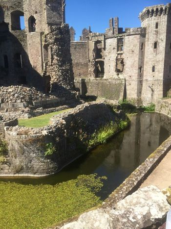 Raglan Castle Castle Sky