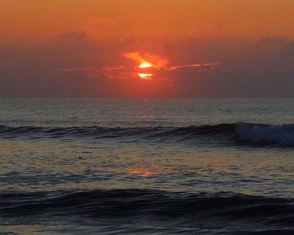 Sunrise Morning Light Life Is A Beach Enjoying The View EyeEm Nature Lover Sky Sea Scenics Beauty In Nature Water Tranquil Scene Sun Wave Waterfront Ocean View Sky_collection Beachphotography Ocean Sunrise_Collection Outdoors Beach No People Sky And Clouds Waves Carolina Beach, NC