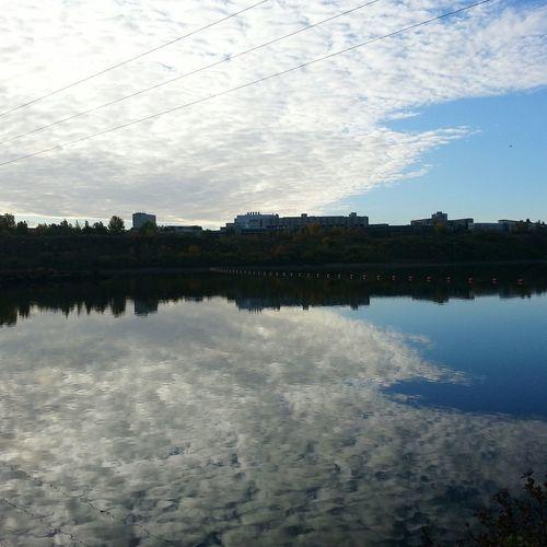 First Eyeem Photo Landscape #Nature #photography South Saskatchewan River Autumn 2015 Autumn Collection Autumn🍁🍁🍁