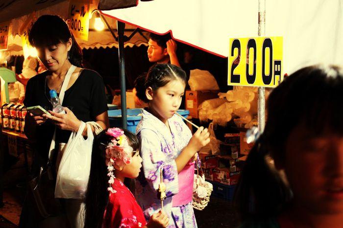 お祭り Festival お盆