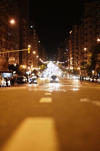 Car Night Street Light No People City Life City Streetphotography Street Street Night The City Light