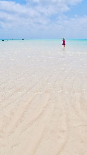 Shimojishima 🏝 Miyakojima Okinawa Japan Photography Sea Low Tide Shallow Shoalwater White Sand Heaven OKINAWA, JAPAN MiyakoIsland Island Vacation Beautiful Place ASIA Me Clear Water Showcase May EyeEm Best Shots 下地島空港 下地島 宮古島 沖縄 海