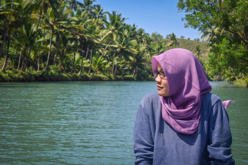 East Java, Indonesia Candid Maronriver Pacitan Outdoors Nature Tree