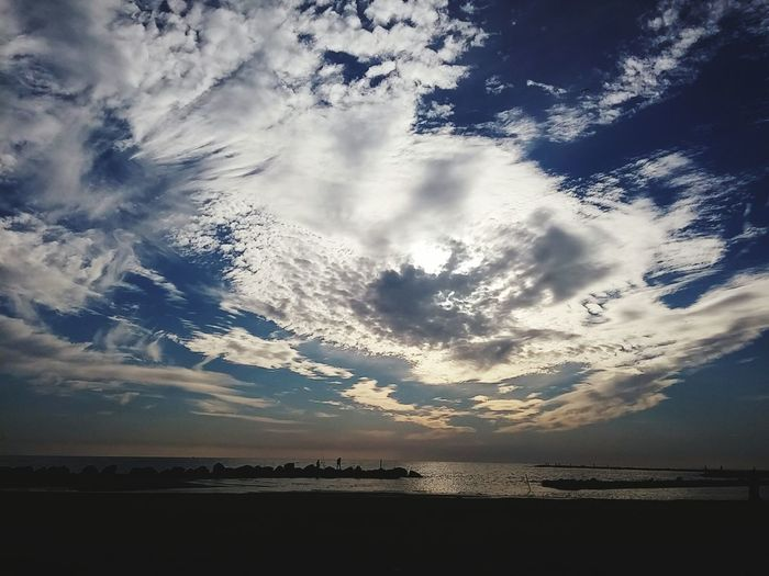 Good afternoon eyeem people..😊The sky on the sea (that I love) Taking Photos Lovelovelove Light And Shadow Cloudsandsky Getting Inspired My Own Photography Beautiful Nature Enjoying Life Enjoying The View Sky_collection Goodafternoon Eyeem World