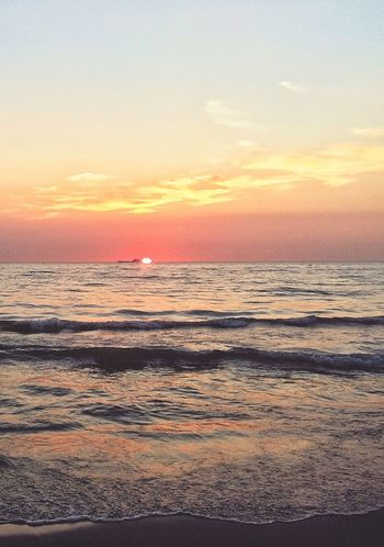Albania Photo Albany Photooftheday Photography Zhoxha Sun Sunset Amazing Beach Landscape Sky Beautiful Golem Smartphonephotography Colour Of Life