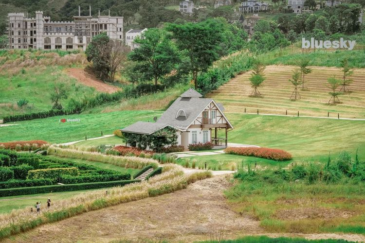 Agriculture Architecture Building Building Exterior Built Structure Day Environment Farm Field Grass Green Color Growth House Land Landscape Nature No People Outdoors Plant Rural Scene Tree