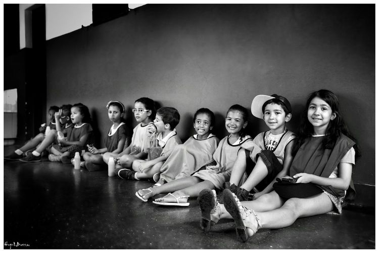 Social Photography Indoors  Young Women People Black & White Leisure Activity Black And White Children School Life  School Social Documentary Children Photography Freshness Cheerful Relaxation Happiness Light And Shadow