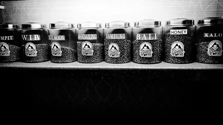 Local Coffee Beans Cafe monochrome Bnw Snapshot Mobile Photography Galaxy Note 5