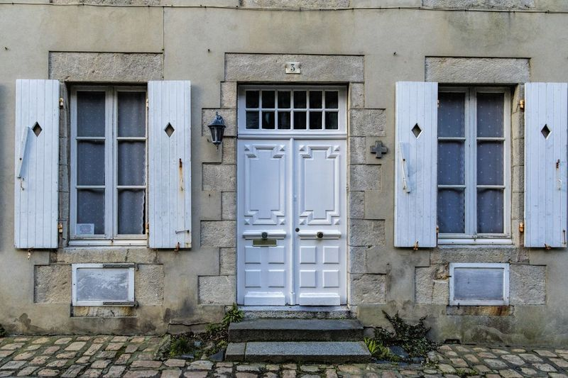 France Architecture Building Exterior Built Structure Day Door Entrance Exterior Granville No People Normandy Outdoors Window