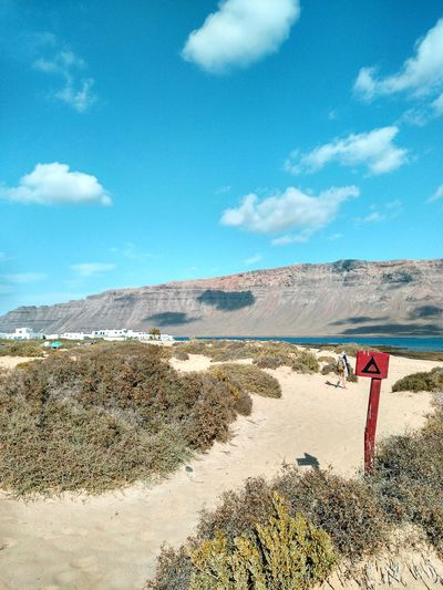 Mai 2017 with tent Camping Landscape Nature Hiking Adventure Sand Sand Dune La Graciosa Lanzarote Canary Islands Canarias Campinglife Campsite Outdoor Caleta Del Sebo Great View From Where I Stand Tentview Tent Mountain Vulcan Vulcano Outdoors Sky Desert The Great Outdoors - 2017 EyeEm Awards