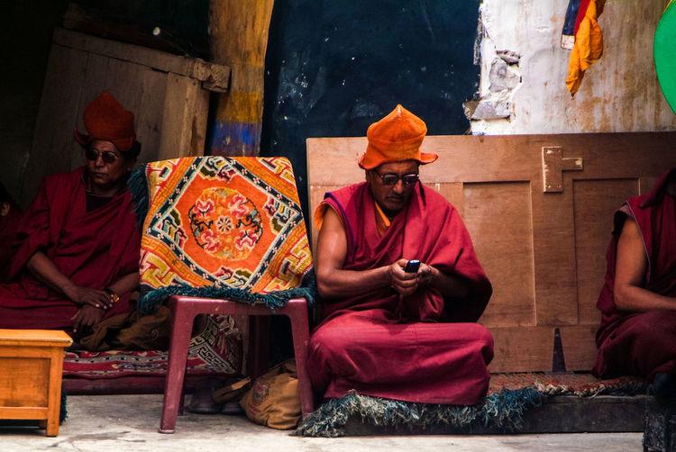 Karsha Gustor Festival at Karsha Gompa in Zanskar Valley Culture Folk Gompa India Karsha Kursha Ladakh Leh Men Padum People Religion Spirituality Traditional Clothing Travel Zanskar