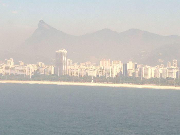 Beato Beatuful Day  Brazil Corcovado First Eyeem Photo Fog Hills Rio De Janeiro Rio De Janeiro City