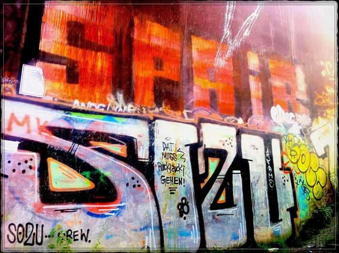 """ Spair "" | SOZU-Crew > Dat muss Ruckzuck gehen !!! < | Graffiti @ Gleimstrasse (near ""Gleimtunnel"") ➡️"