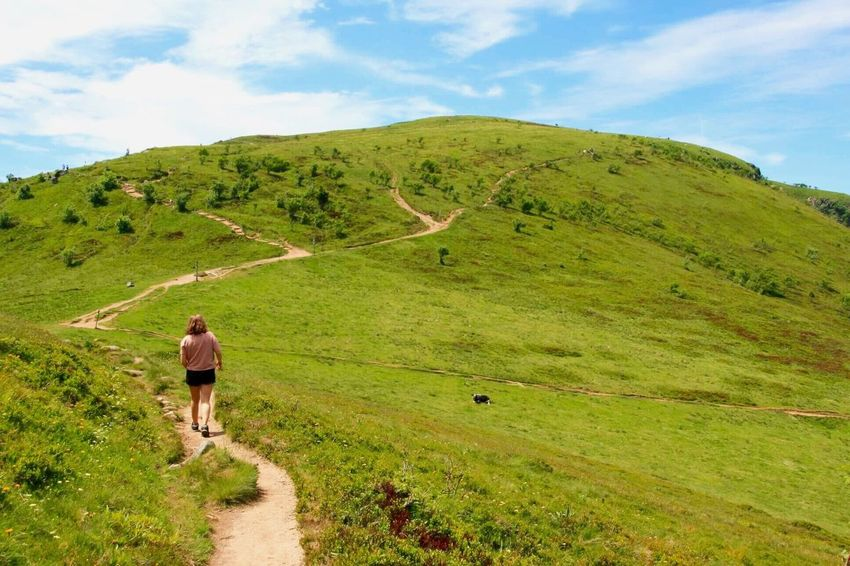 ⛰ Randonnée Vosges Hohneck Ciel Hiking France Sky Green Blue Nature Landscape Women Nofliter Colors