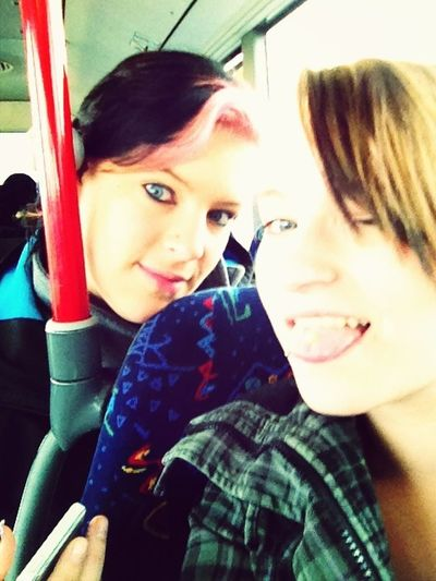 Chilln Im Bus Mit Siss ;)