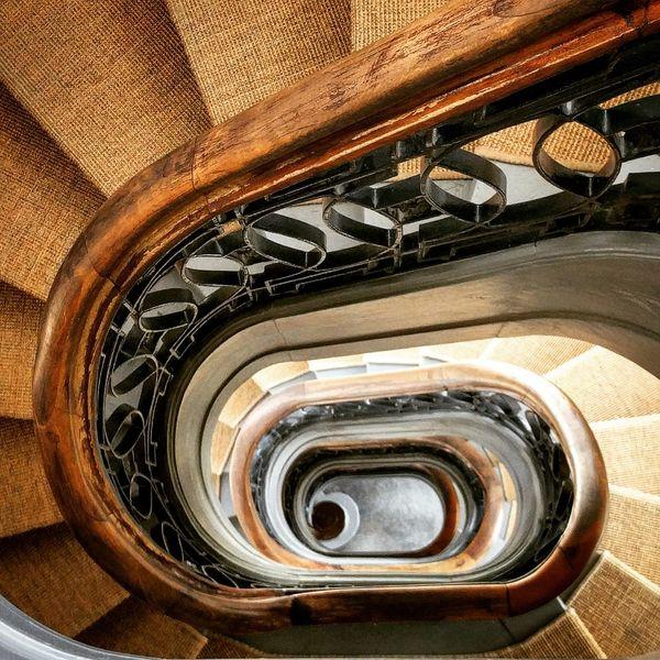 Staircase Spiral Staircase Staircase Stairs View Down Architectural Detail Architectural Feature Interior Design Interior Views Charlottenburg Palace Belvedere Berlin