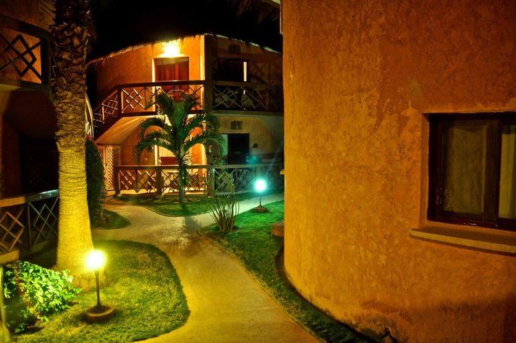 Nightphotography Luxuryhotel Hotel Night Lights Dakar Senegal