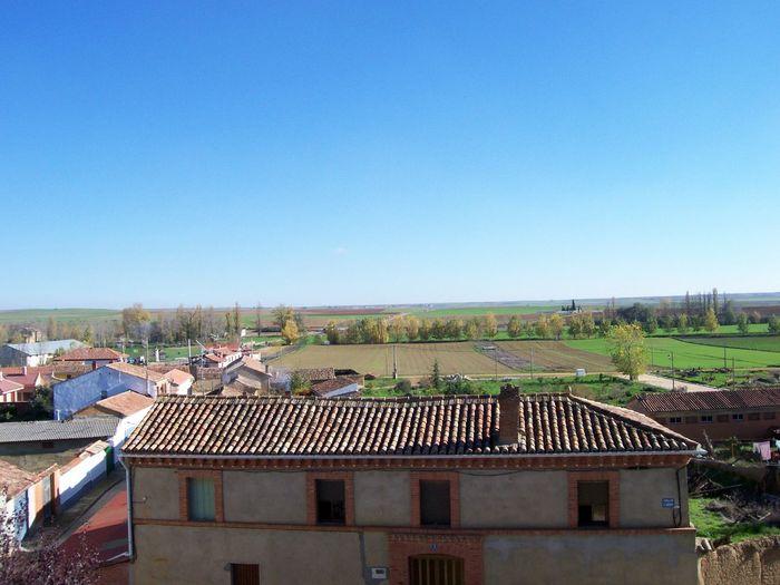 Landscape Meseta Paisaje Sky SPAIN Tierra De Campos Valladolid Village
