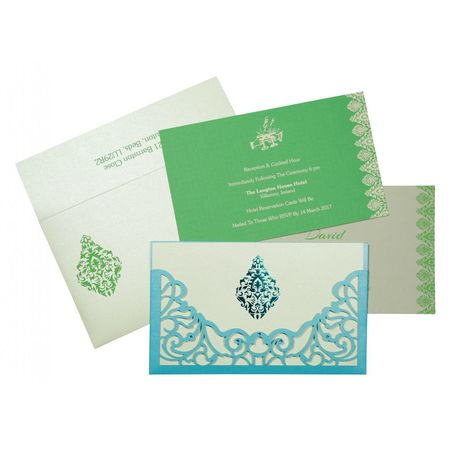 Leave a sparkling first impression on your wedding guests by choosing these exuberantly glamorous Designer Wedding Cards for your wedding. Shop here: https://www.123weddingcards.com/card-detail/D-8262A For more laser cut invites visit: https://www.123weddingcards.com/laser-cut-wedding-invitations Laser Cut Invitations Wedding Wedding Cards Cheap Laser Cut Wedding Invitations Laser Cut Laser Cut Cards Laser Cut Wedding Invitations Laser Wedding Invitations Wedding Invitations