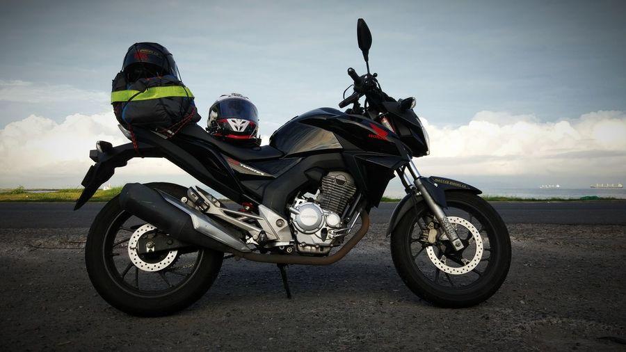 Motorbike On Field