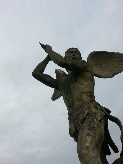 San miguel Anghel Archangel Phonecamera PhonePhotography Taking Photos Sculpture Check This Out