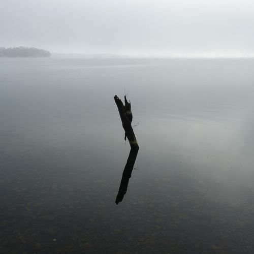 2019 Plöner See Water Tranquility Tranquil Scene Nature Beauty In Nature Day No People Sea Scenics - Nature Fog Sky Outdoors Waterfront Non-urban Scene