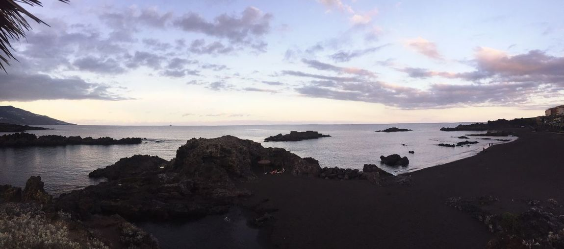 silence Beach Evening Sea Tadaa Community Tadaa EyeEm Deutschland EyeEm Best Shots Santa Cruz De La Palma Landscape_Collection
