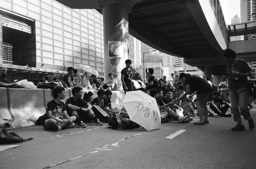 this is our history, fight for democracy #2014 #Filmcamera #History #Memories #Unity #blackandwhite #democracy #fightforyourrights #film #filmphotography #hongkong #hongkongers #hongkongnese #human #loveandpeace #ourtimes #photography #photoshoot  #powerof #throwback #umbrellarevolution #wemadehistory #whatwedo