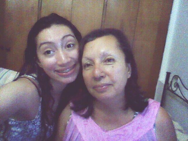 selfie whit mom FelizDIa Teamo♥