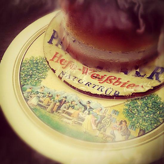 Drinking Beer Weserwehr Paulaners