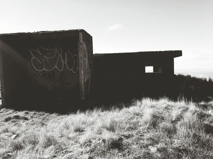 Architecture Ancient Civilization No People Cloud - Sky Outdoors Graffiti Picture Of The Day! Leica Lens Scenics Old Buildings Seaside Walking