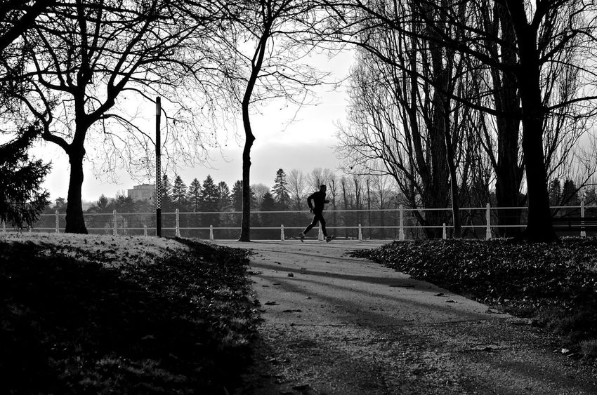 🏃🏿 France Streetphotography Vichy Blackandwhite Runner