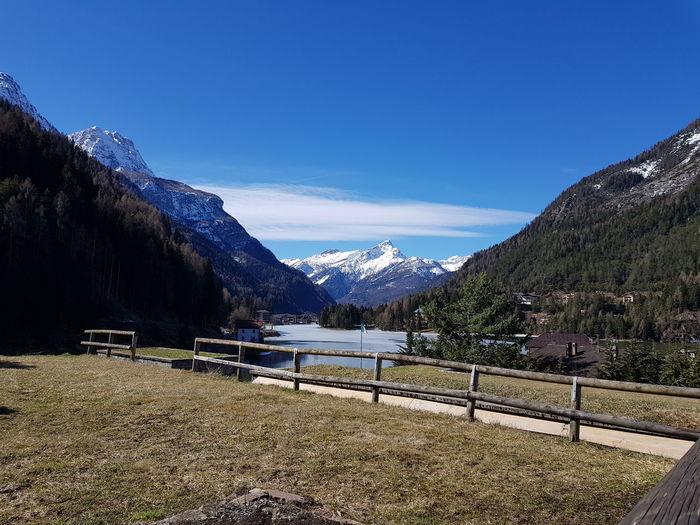 Tree Mountain Snow Lake Snowcapped Mountain Sky Mountain Range Landscape First Eyeem Photo