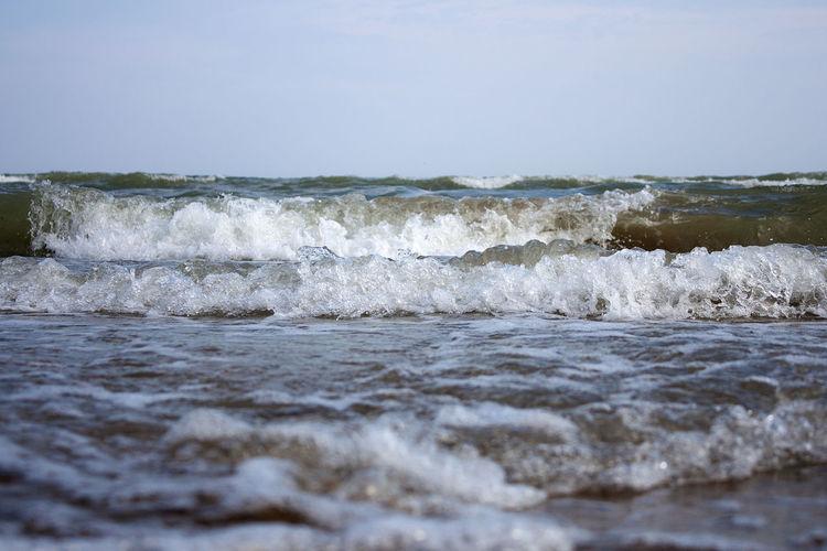 Bade Warnung Badeverbot Beach Beauty In Nature Brandung Day Nature No People Outdoors Sea Sky Strömung Sturm Stürmisch Warnung Wasser Water Wave Wellen Wellenbrecher