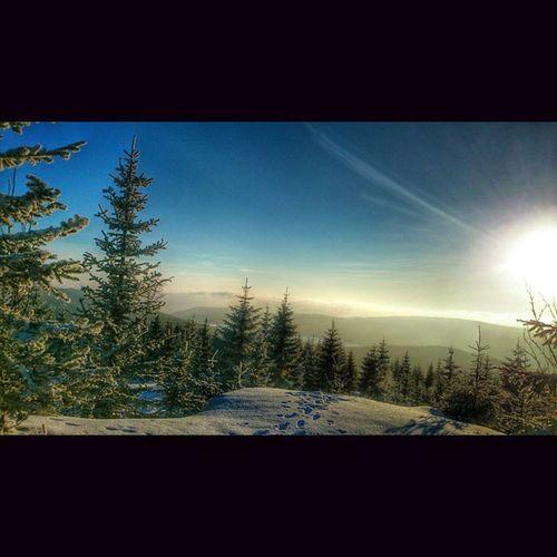 Wittighaus (Smědava) - KleinIser Instashot Picoftheday skitour skiing ig_winter
