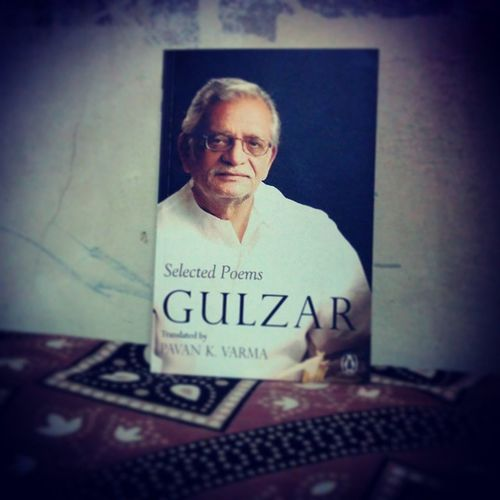 The joy of reading poems Gulzar Book Poems