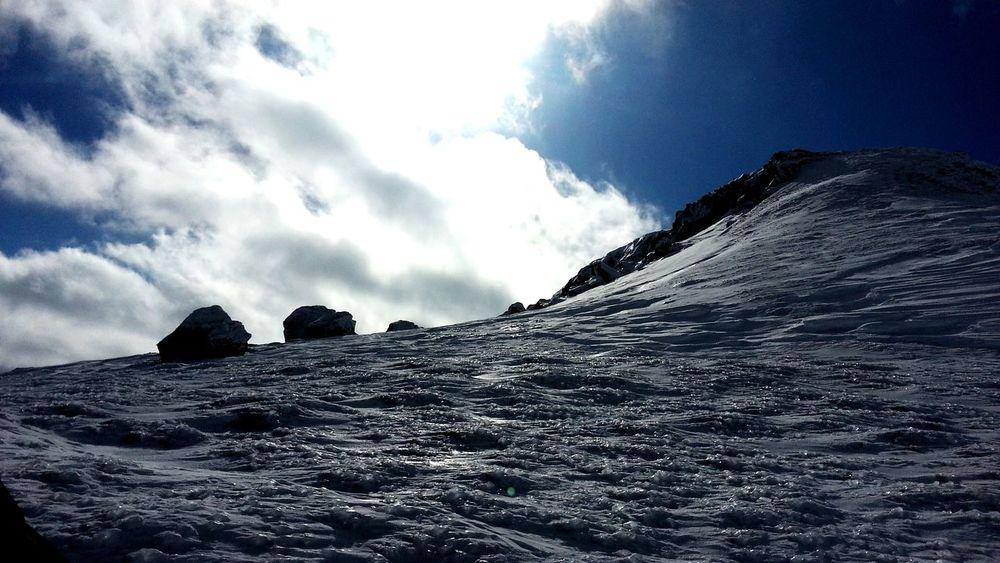 Neige Snow Sun Soleil Montagne Ski Sky Ciel Picture Photo