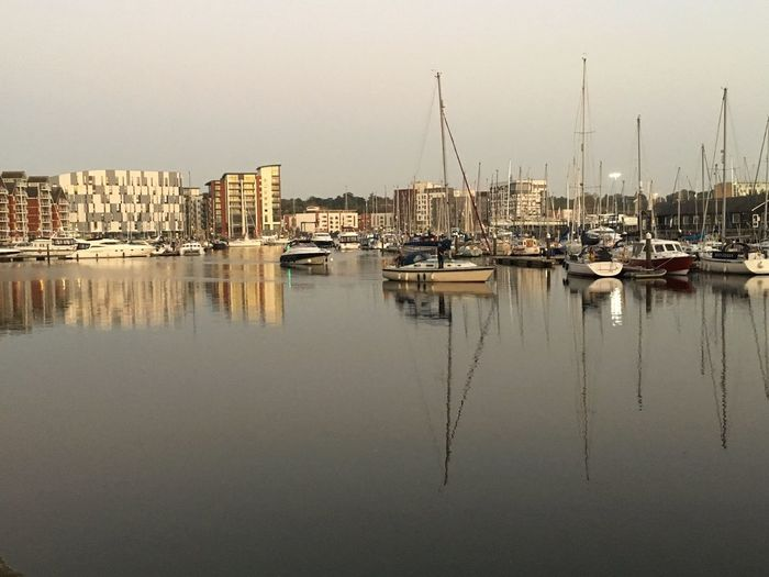 Still Waters ... Water Reflection Marina EyeEm Selects Golden Hour Ipswich Marina