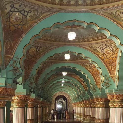 Mysorepalace  Designedtoaspire Cravings Instaphoto Instalike FamilyTime EyeEm Eye4photography  India Turquoise