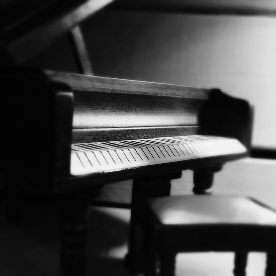 The little vision of the tiny house of Granny Zulema Indoors  Music Musical Instrument Selective Focus Piano Key Piano Arts Culture And Entertainment