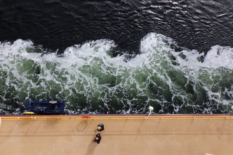 On the Ferry to Norway. Ferry Water View From Above Abstract On The Way Traveling Travel Photography Moving Water New Perspectives Making Waves Oslo, Norway Norway🇳🇴 Norway Feel The Journey On Board Water Surface Ferry Views Ferryboat Showcase June On Boat Fine Art Photography On Ship On Deck Waves Ferry Ride