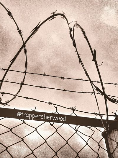 Barbed Wire Wednesday Razorwire Goodmorning Barb Wire Fence From My Point Of View