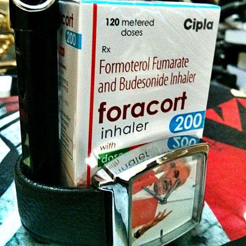 """Achhe din""..when u get a free sample ... OPD Jipmer Drugs Pondicherry India Patientcare Medicine Lungs Asthma Lamy Modi NarendraModi BJP Copd Ironman"