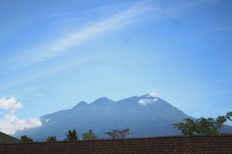 Mountain View Beauty In Nature Blue Blue Sky Bluesky Mountain Mountain Range Mountains And Sky No People No People Outdoors Sky Be. Ready. Mount Agung Nature EyeEmNewHere Go Higher