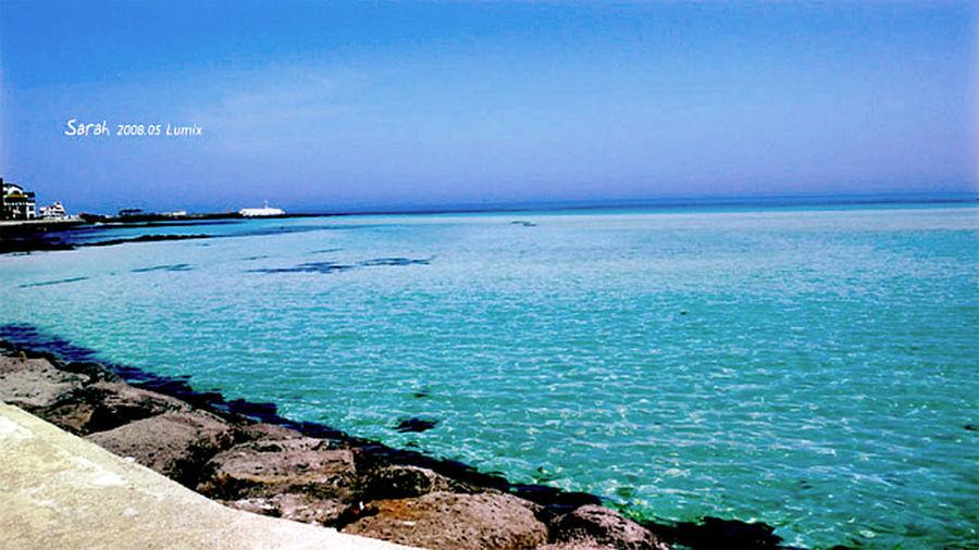 Jeju Blue Sea Blue Sea Sky JEJU ISLAND  Jejudo Korea Sea Sea And Sky Seaside Walking Around The Sea