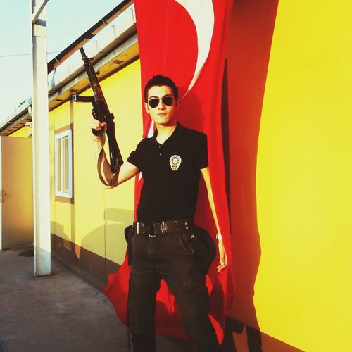 Street That's Me Cool Police