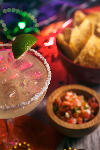 Mexican Cinco De Mayo series with colorful lights, food, drink and party items! Celebration Cinco De Mayo Cinco De Mayo! Holiday Margarita Mexican Culture Alcohol Alcoholic Drink Cinco Drinking Glass Food And Drink Mexican Party Refreshment