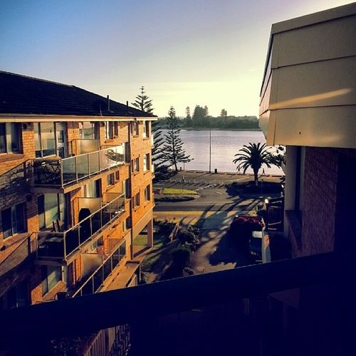 Good Morning World! Theentrance Nsw Australia Ocean breeze sunshine morningbustle lotsofnoisesandsmells allkindsofpeople iloveit mynewhome