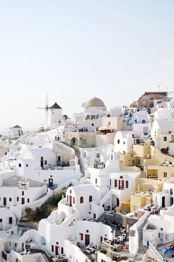 Been There. Done That. Architecture Building Exterior Built Structure Residential Building Spirituality Dome Copy Space Whitewashed High Angle View Travel Destinations Outdoors No People Cityscape Santorini, Greece (null)The Week On EyeEm TheWeekOnEyeEM EyeEm Selects EyeEm Best Shots Beautifuldestinations Passionpassport Santorini Island Travel Photography Lost In The Landscape #FREIHEITBERLIN