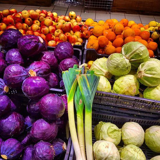 Vegetables Colors